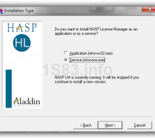 HASP License Manager — менеджер лицензий для 1С